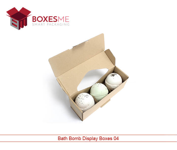 Make your life easy with our Bath Bombs Packaging