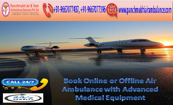 Reliable and Quickest Air Ambulance Services in Jabalpur with Doctor