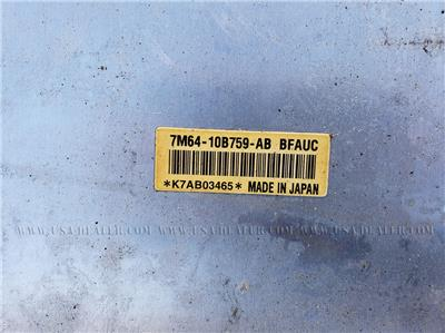 FORD ESCAPE HYBRID BATTERY 7M64-10B759-AB