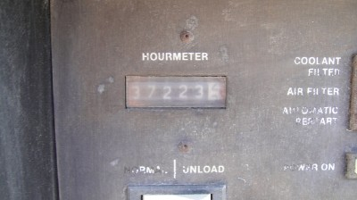 INGERSOLL RAND SSR-EP75 AIR COMPRESSOR, 37,223 HOURS, S#D4565U87A-S