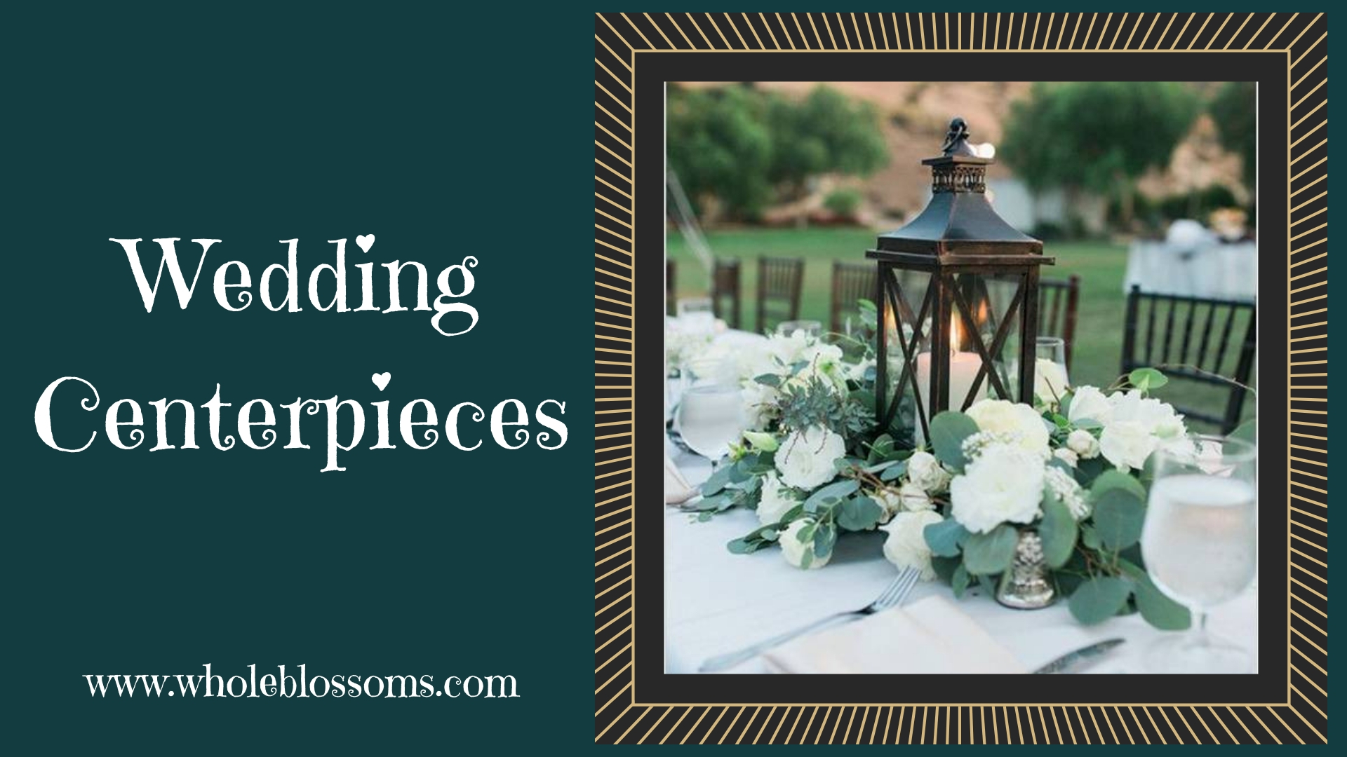 Buy Amazing Wedding Centerpieces at the Lowest Price