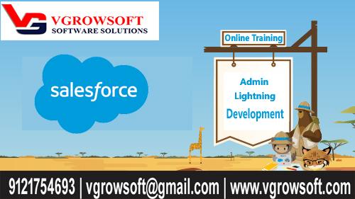 Salesforce Live Online Training | VGROWSOFT |