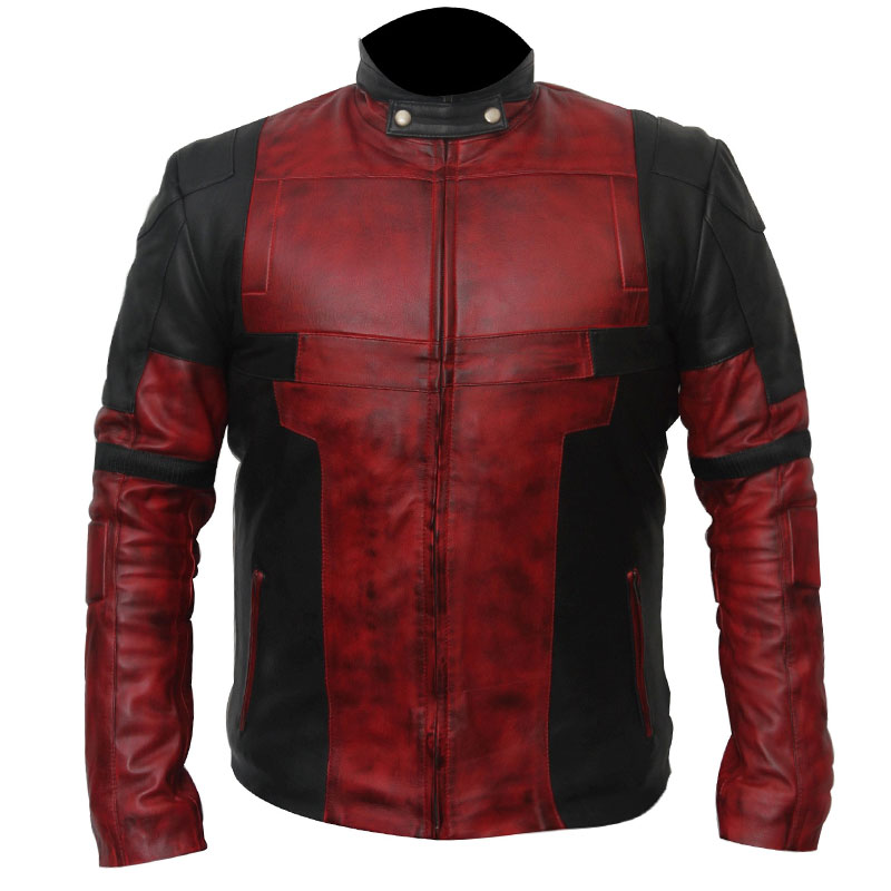 Deadpool 2 Wade Wilson Leather Jacket