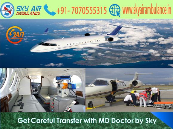 Avail 365 Days Emergency Facility from Bhopal by Sky