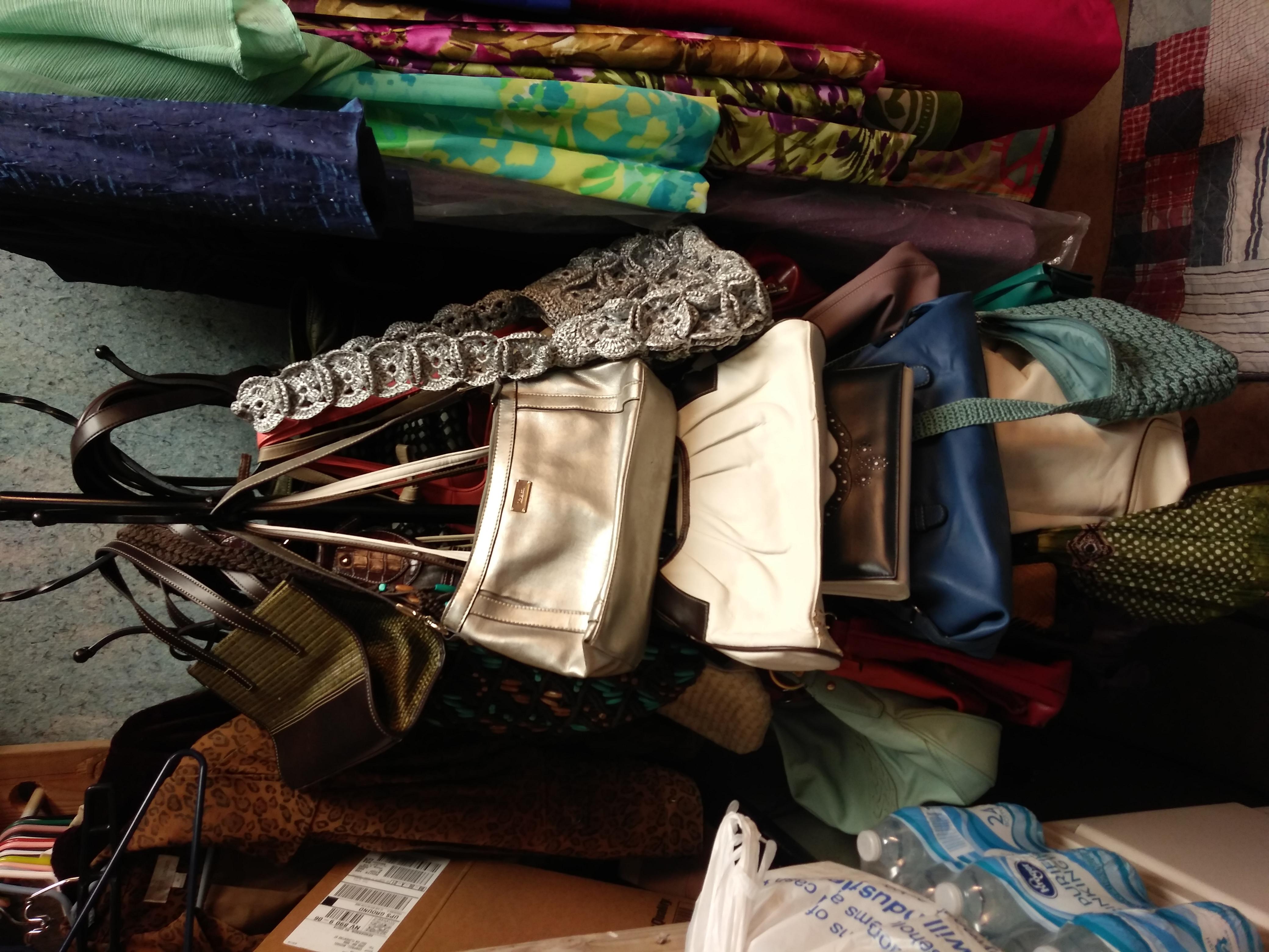 Yard Sale  $1.00 per piece Women's Clothes, shoes, purses