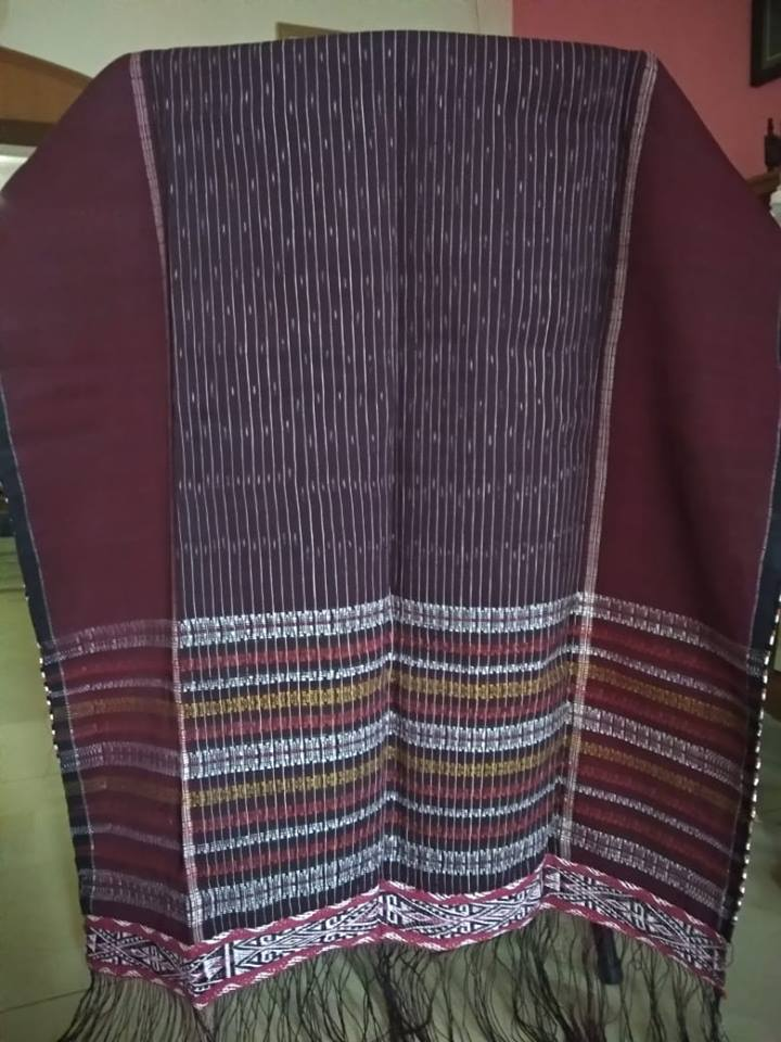 Ulos Ragi Hotang Indonesia Hand Weave Cloth