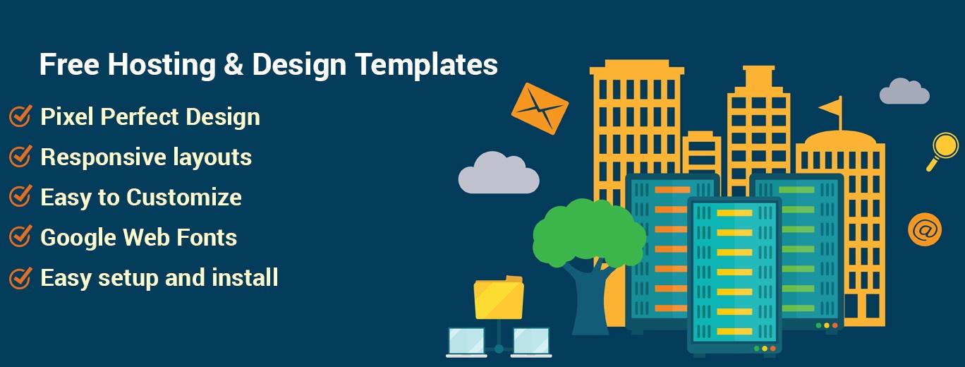 Free Website Hosting & Design Templates