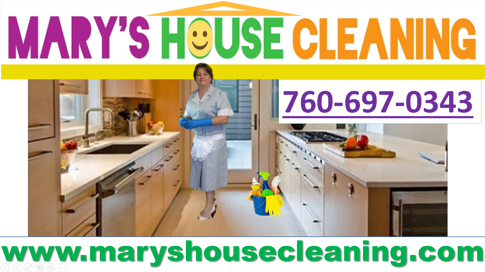 Marys House Cleaning Service in All North County