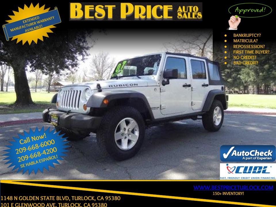 2007 Jeep Wrangler Unlimited Rubicon Turlock
