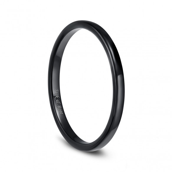78% OFF Black Mens Womens Ceramic Rings High Polished