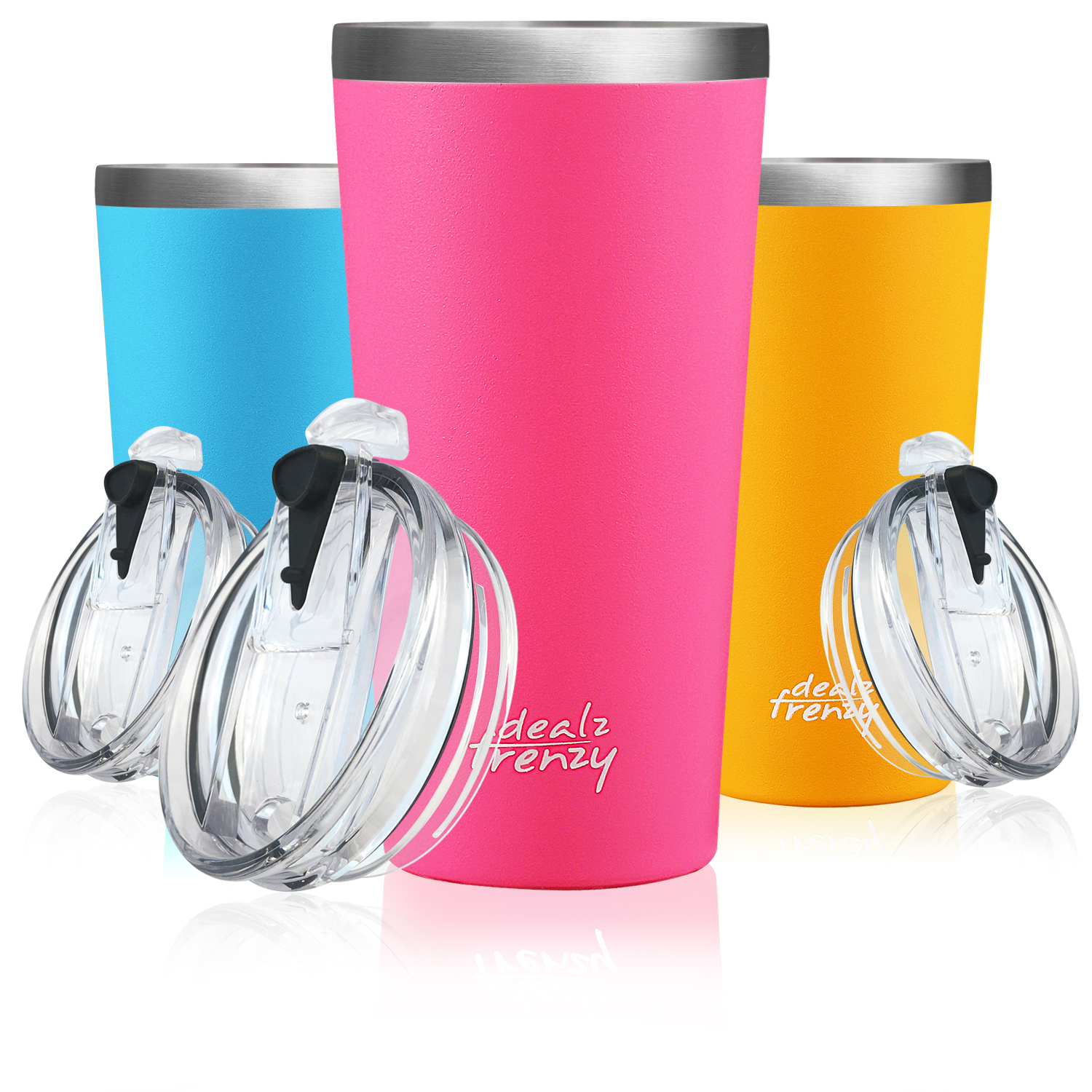 Amazon coupon, only need $7.9 on Dealz Frenzy Stainless Steel Water Bottle with the coupon