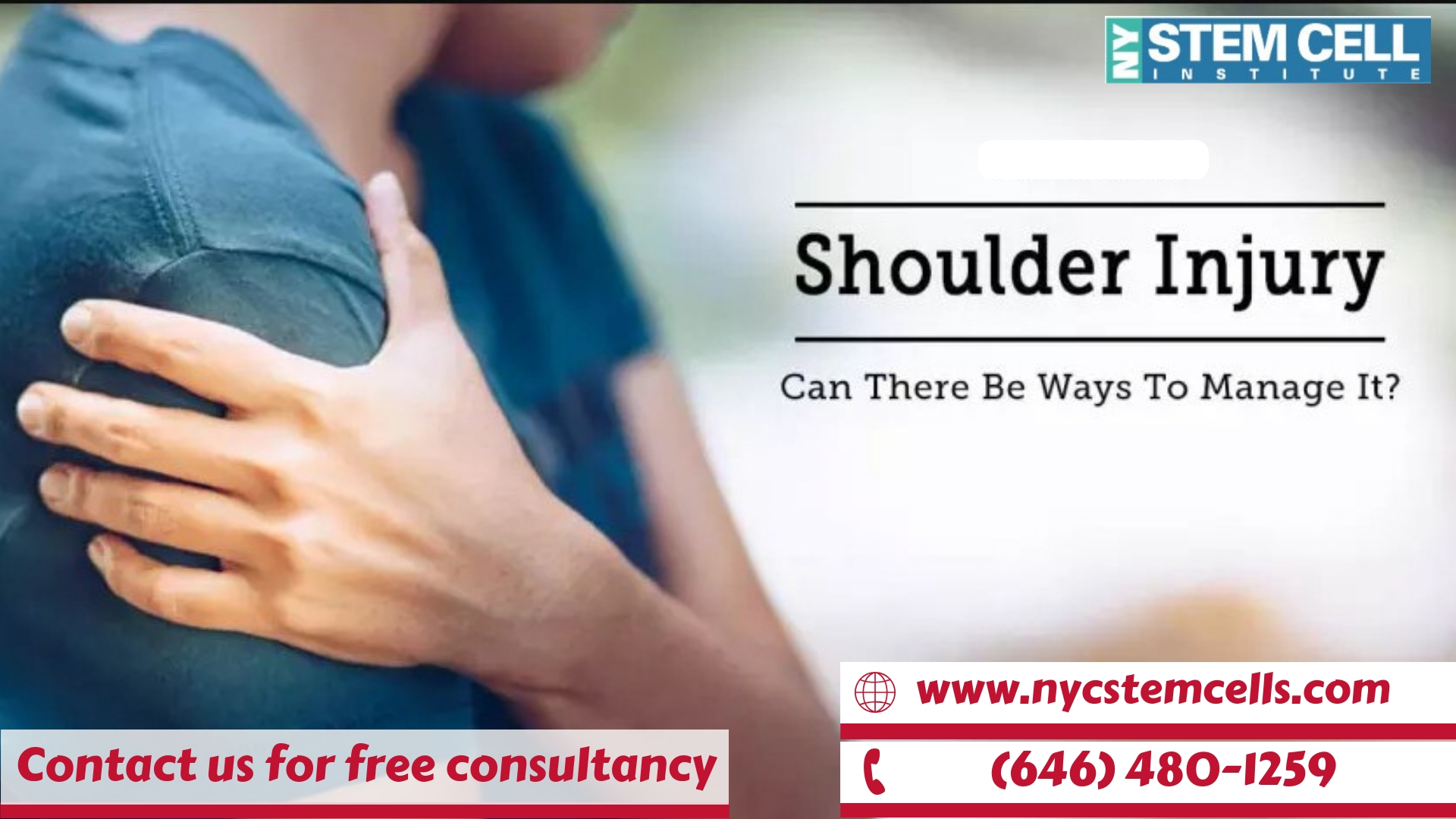 Are you suffering from Shoulder Pain? and looking for best Treatment in new york??