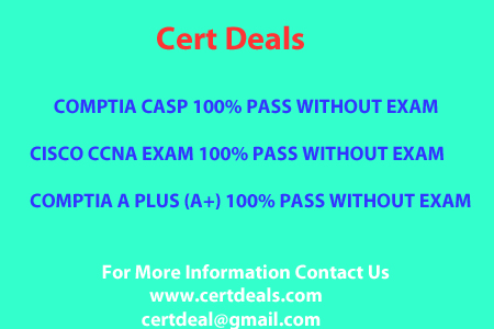 COMPTIA CASP 100% PASS WITHOUT EXAM