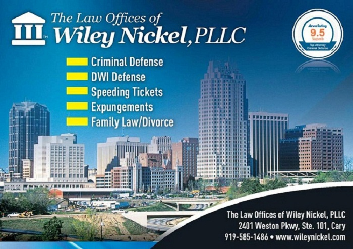 Expungement Legal Services | Wiley Nickel (919) 585-1486