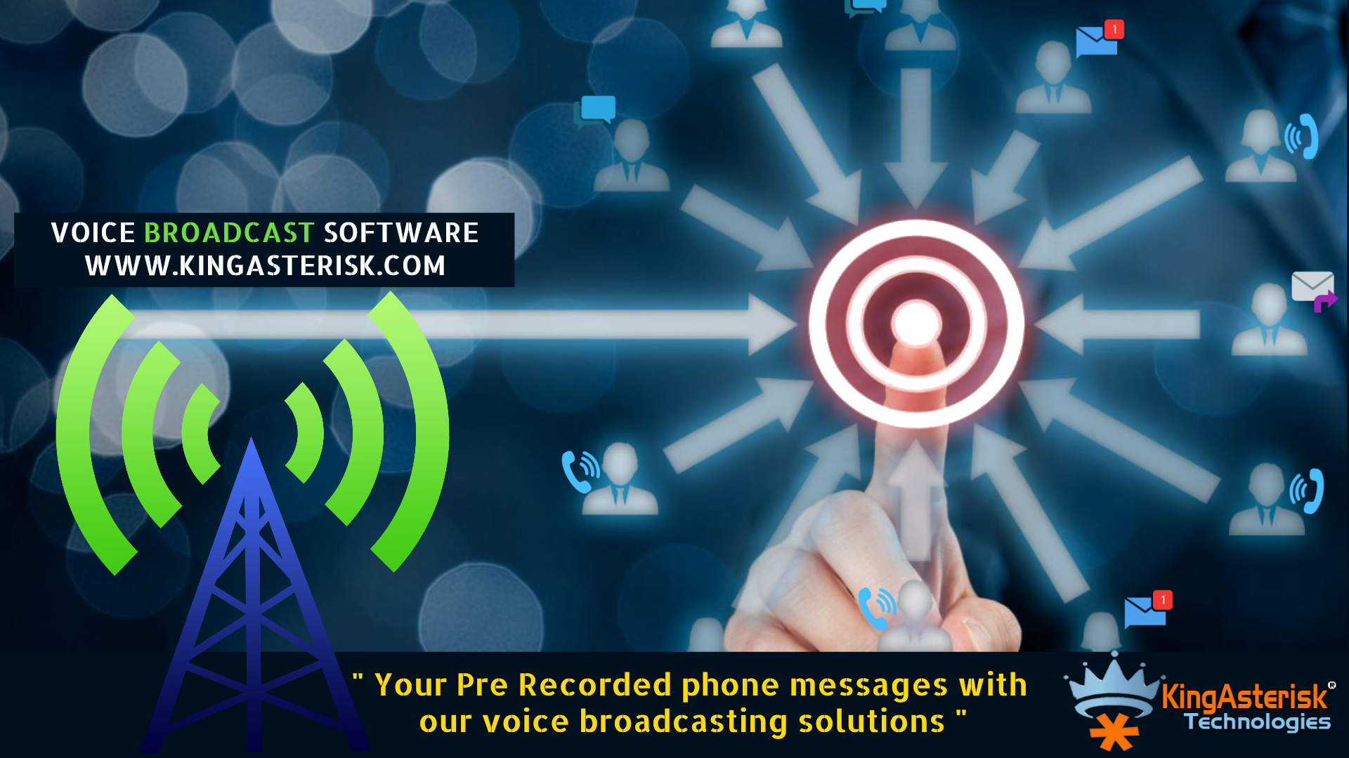 Voice Broadcasting Applications