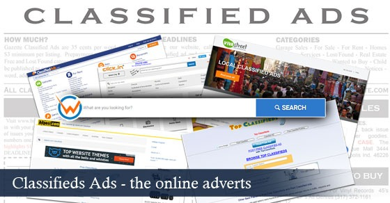 Top 20 High Ranking Classified Ads Site List