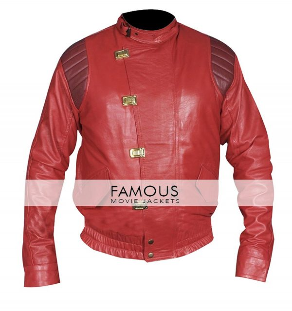 Akira Capsule Cosplay Red Motorcycle Leather Jacket