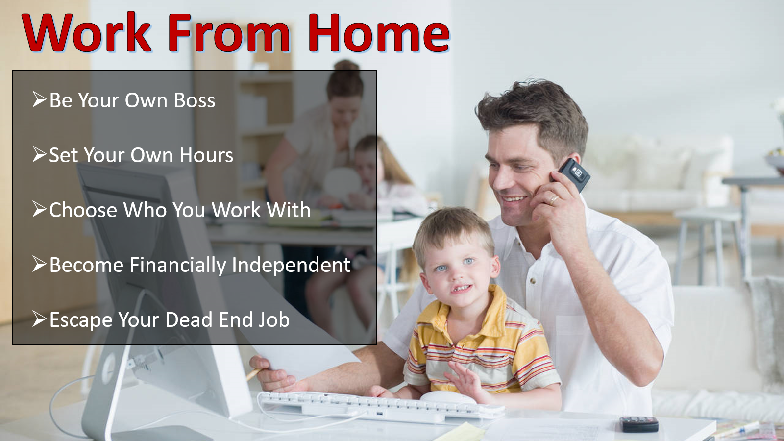 Independent Sales - Be Your Own Boss!