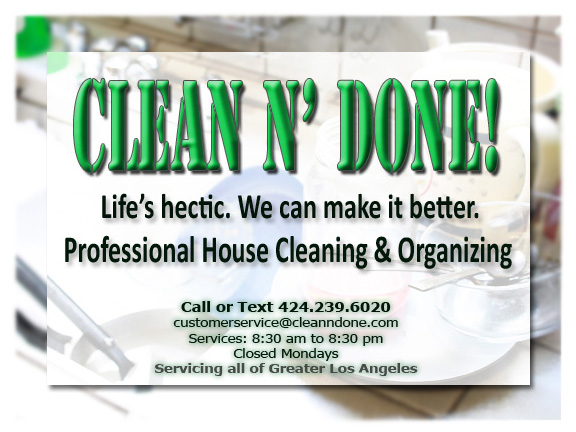 Deep House Cleaning | Los Angeles | Clean N' Done!