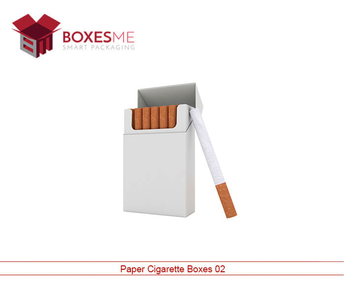 Make your life easy with our Paper Cigarette Boxes