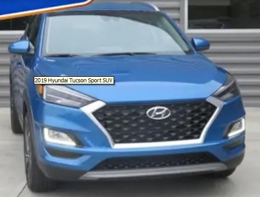 2019 Hyundai Tucson Sport SUV Stk# H60229