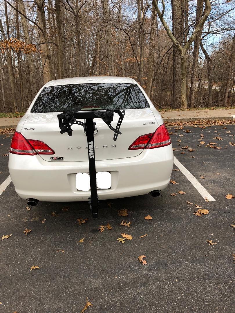 Thule 2 bike hitch rack