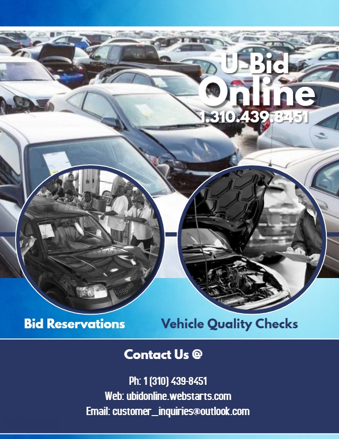 Salvage Auction Vehicles Sales & Inspection Services
