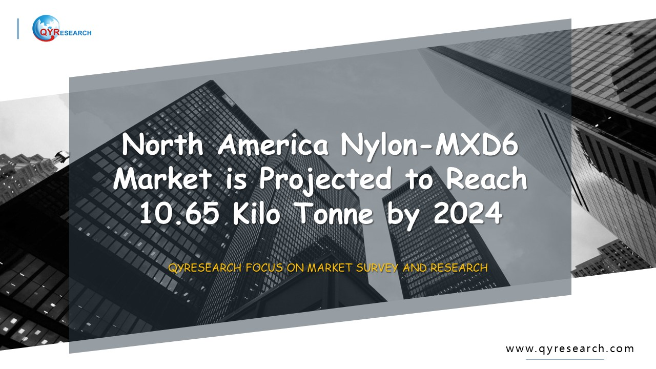 North America Nylon-MXD6 Market is Projected to Reach 10.65 Kilo Tonne by 2024
