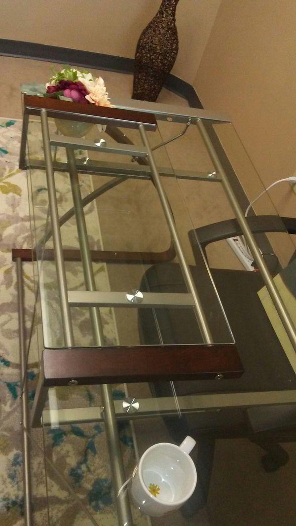 Desk - Glass Top, BRAND NEW