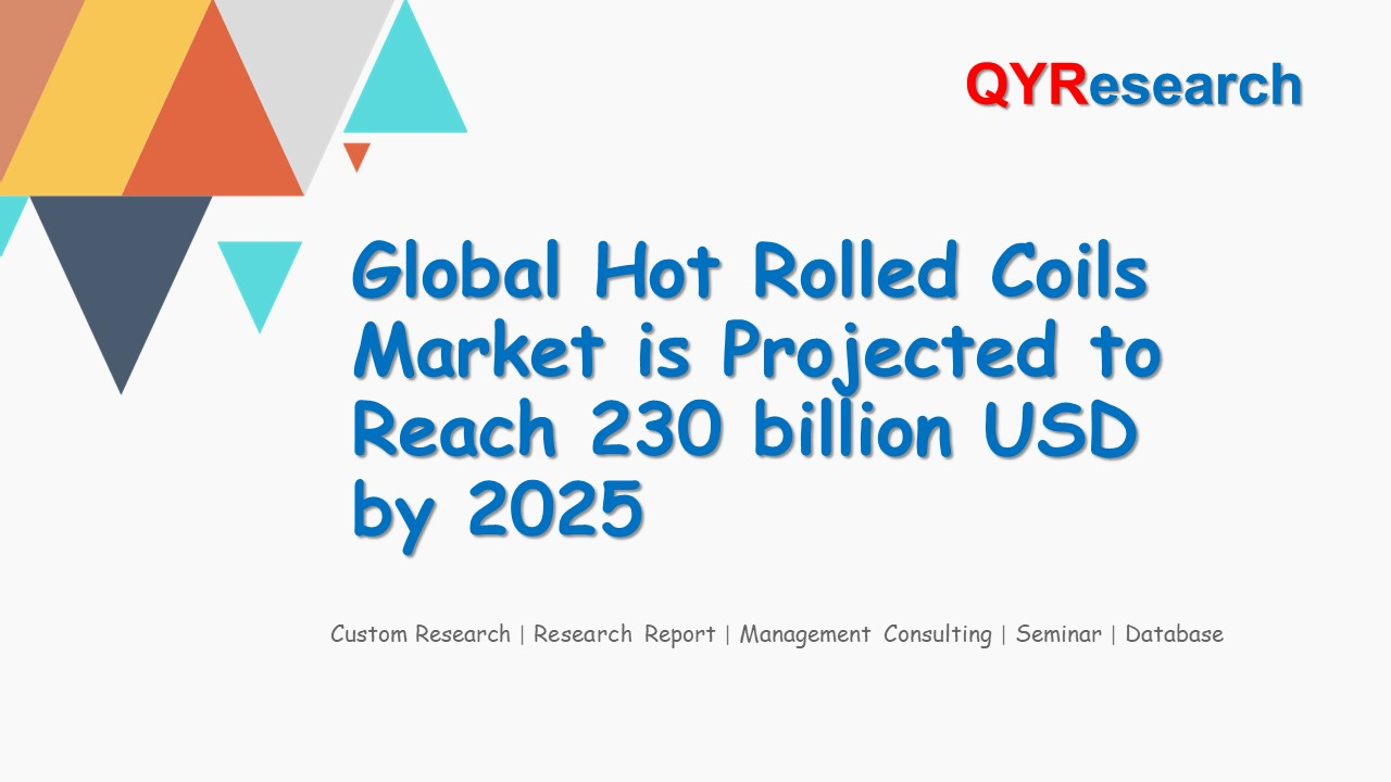 Global Hot Rolled Coils Market is Projected to Reach 230 billion USD by 2025