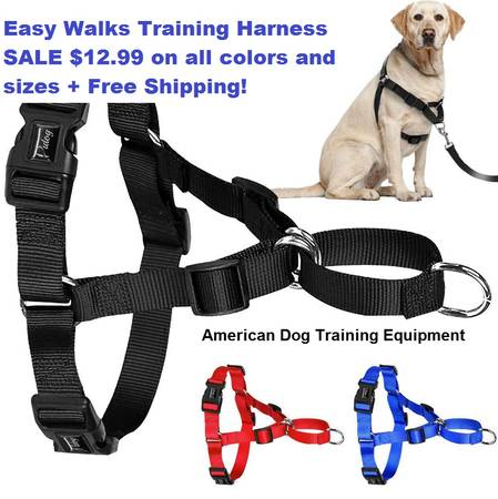 No Pull Dog Harness for Easy Walks