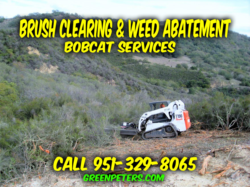 Brush Clearing Weed Abatement Services