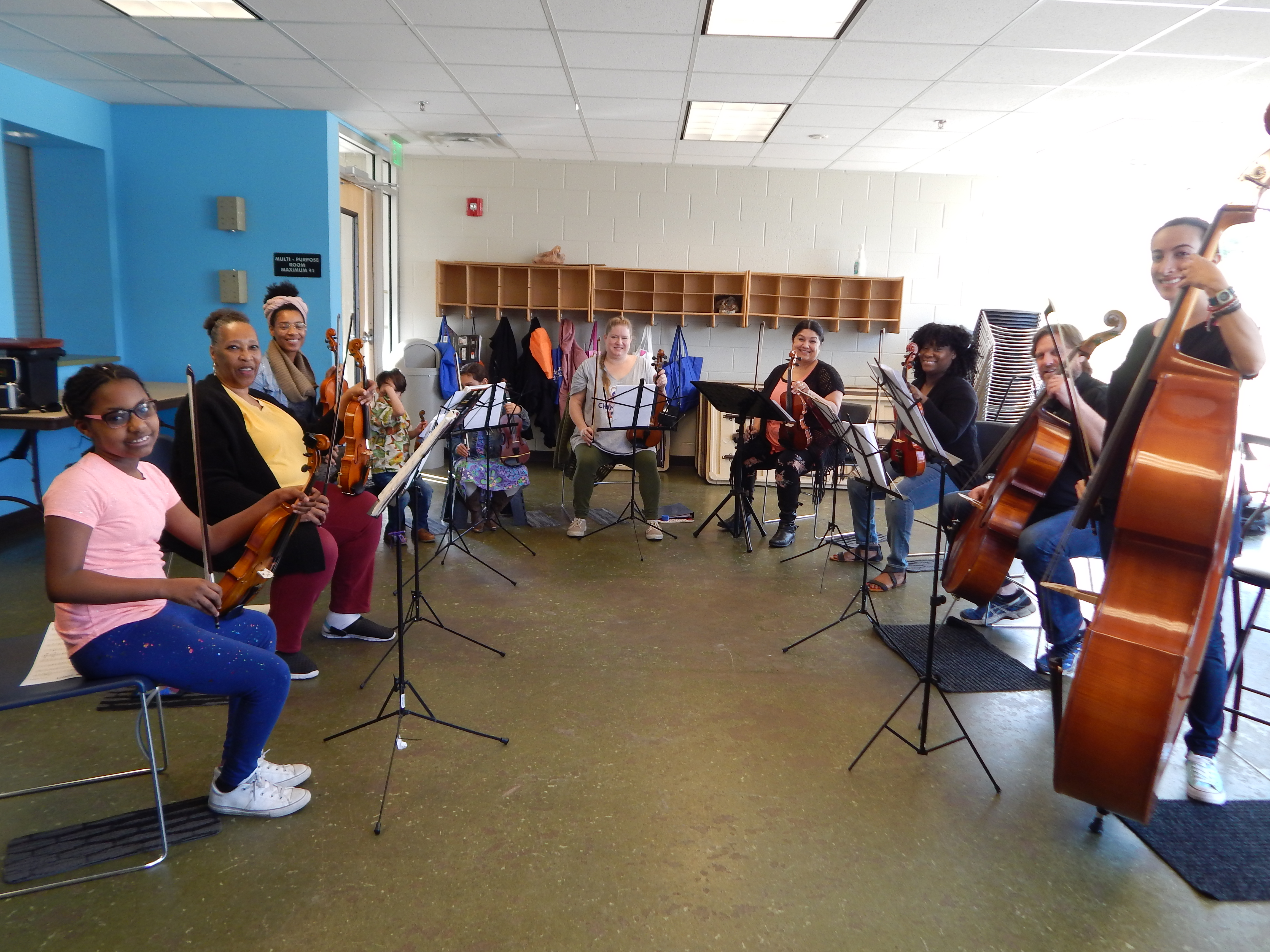 CSET NP 2019 FREE VIOLIN, VIOLA, CELLO AND CONTRABASS STRING MUSIC LESSONS OPEN ENROLLMENT