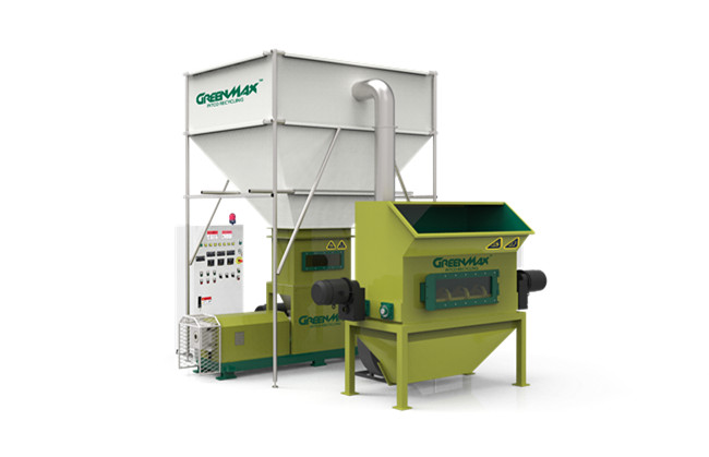 Foam recycling equipment GREENMAX  MARS C300