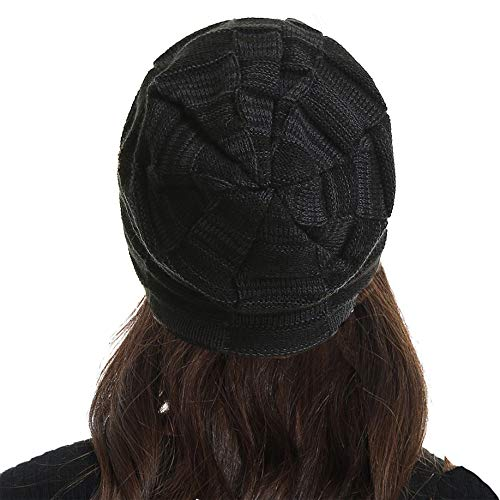 Beanie Hat Men Women Winter Warm Ski Skull Cap Chunky Slouchy Cable Knit Beanie