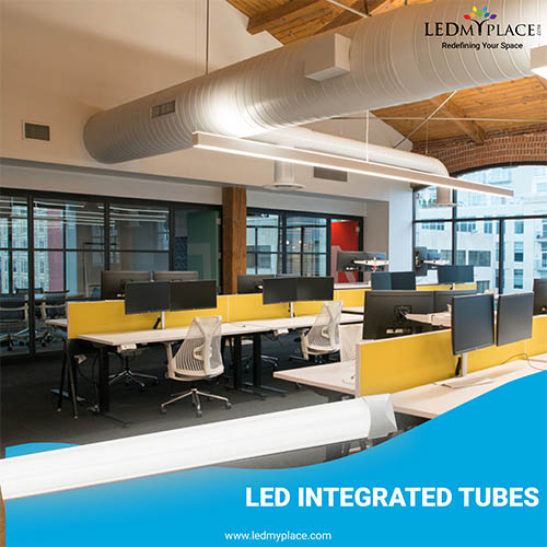 Led Integrated Tubes Best Suitable For Indoor Lighting
