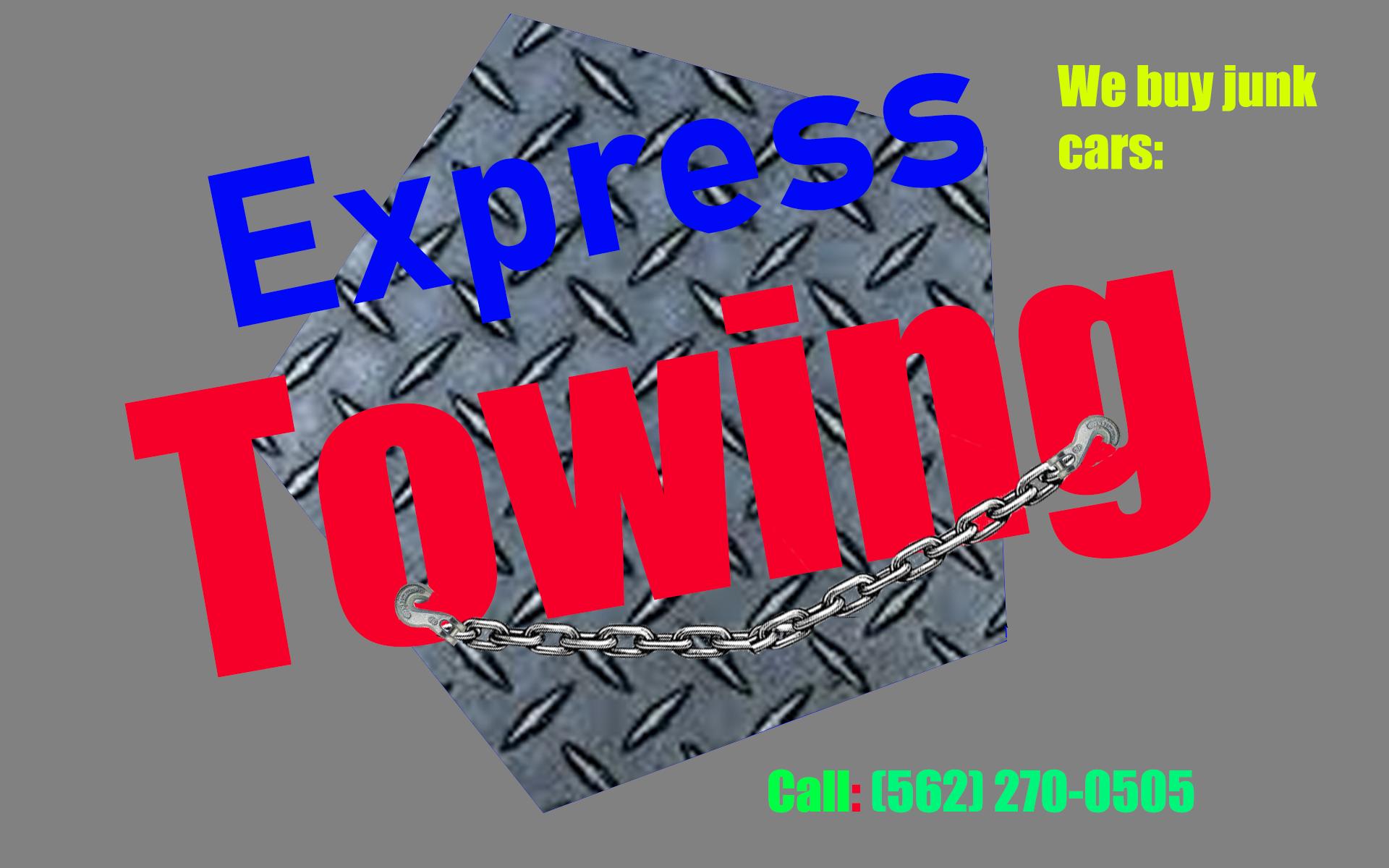 Express junk cars/ We'll pay you top dollar