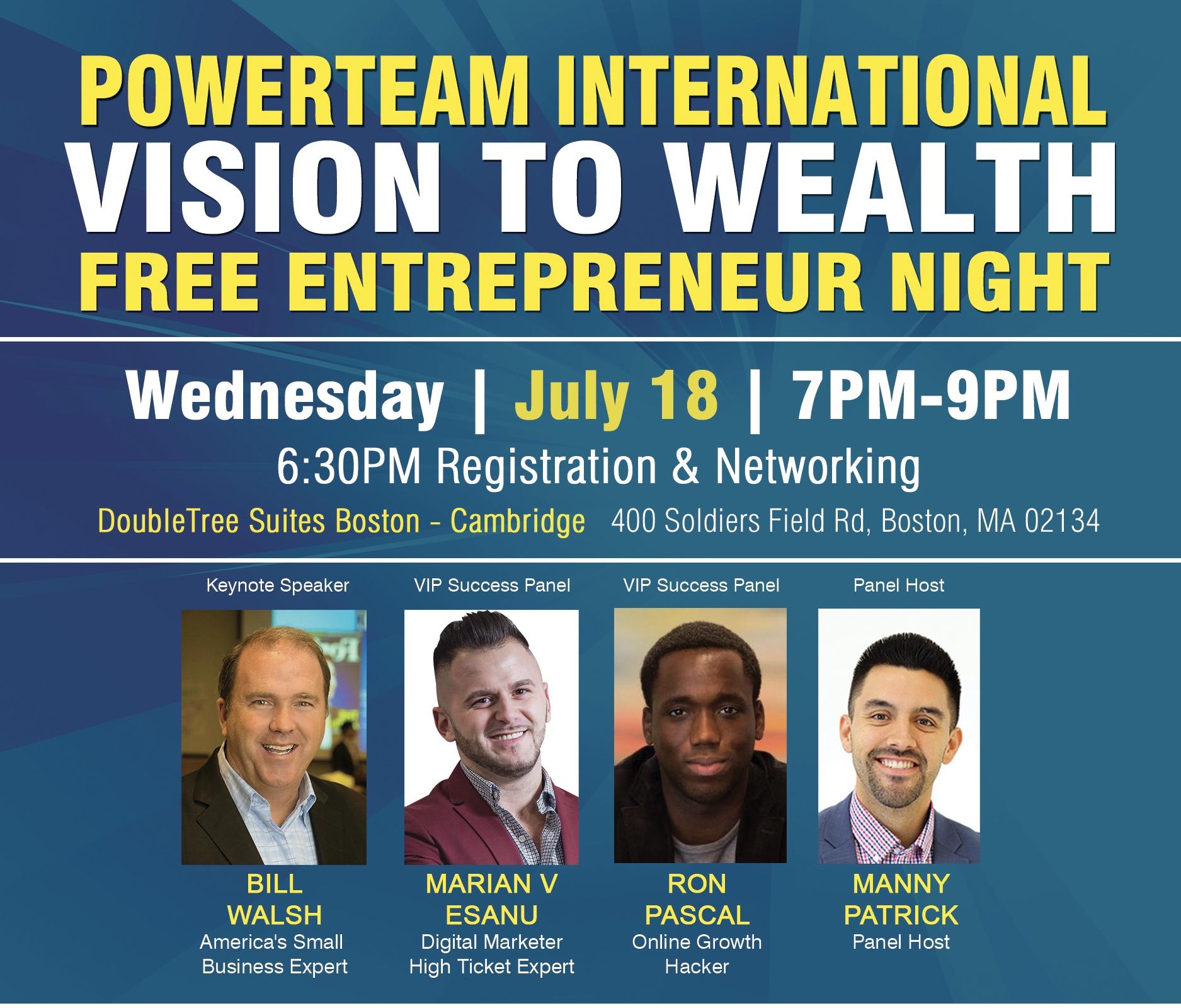Vision to Wealth Boston - Nicole Taylor