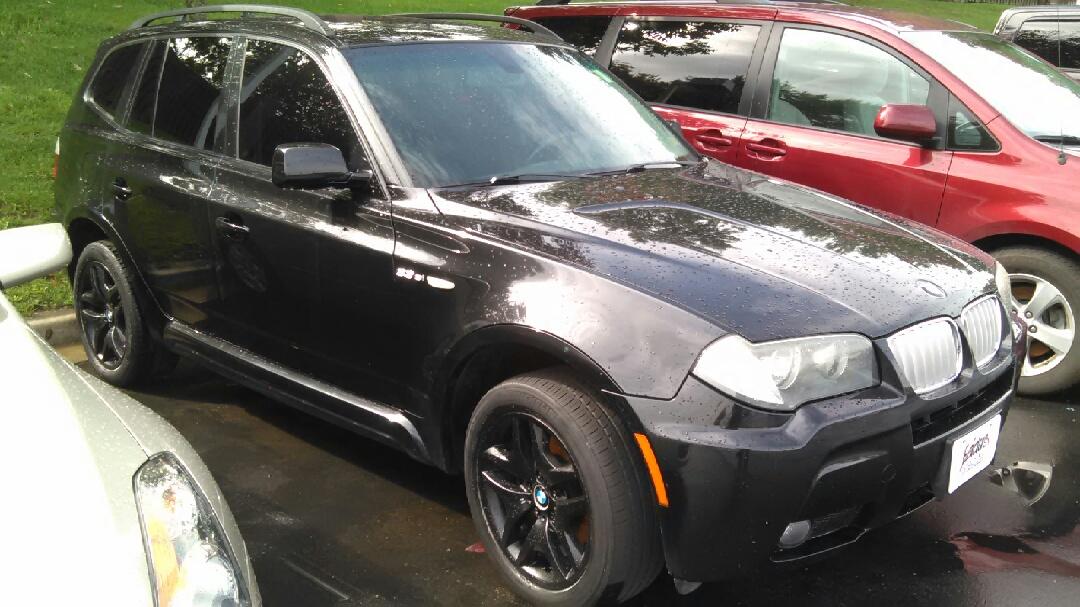 2008 BMW X3 AWD BLACK/BLACK