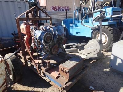 WATER PUMP WITH DUETZ ENGINE