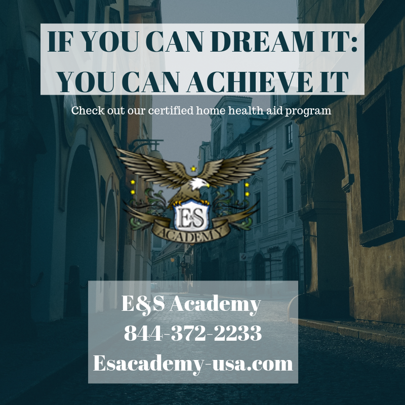If you can dream it: you can achieve it