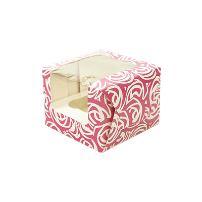 Get Custom Printed Single Cupcake Boxes