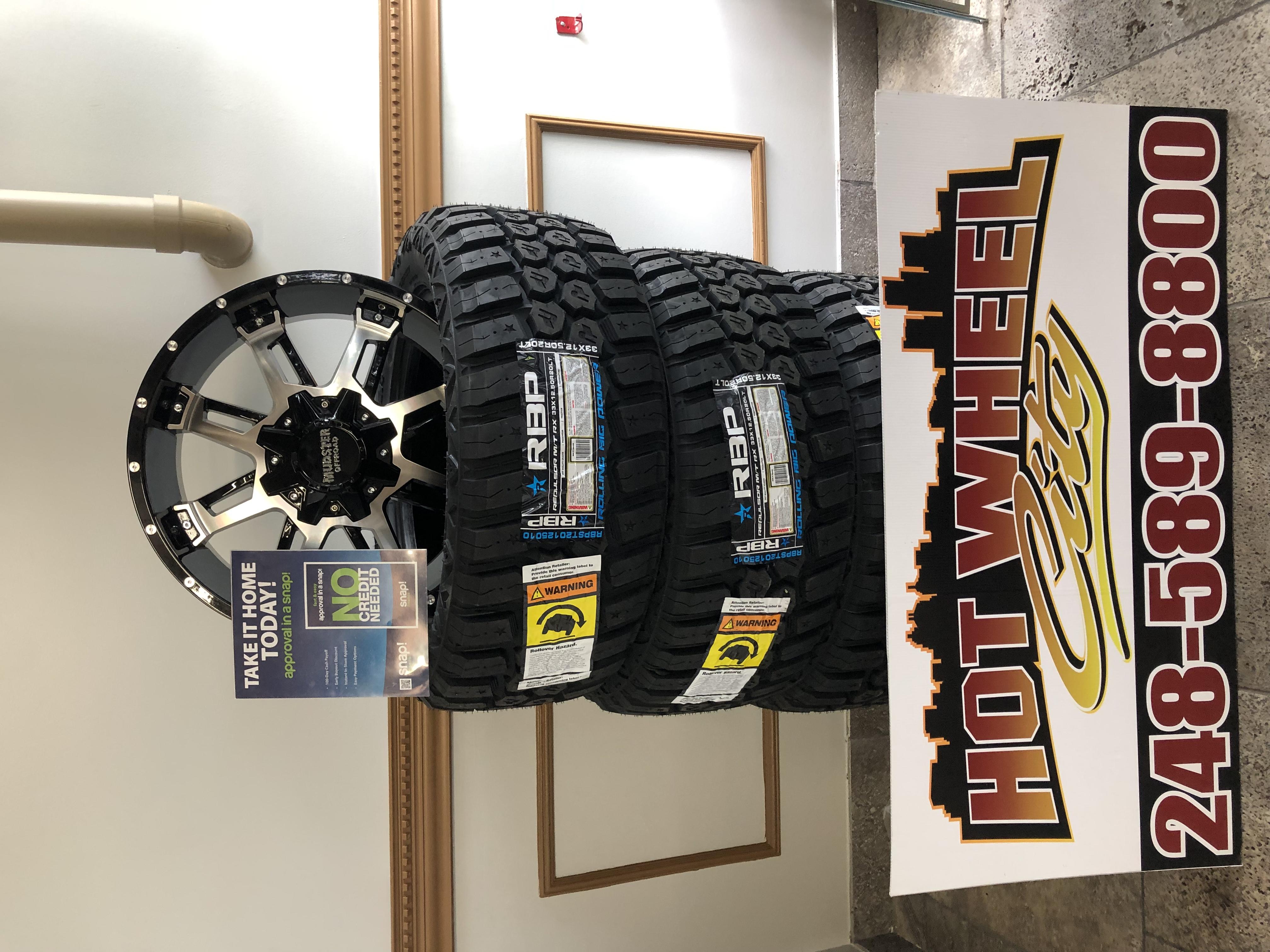 "20"" Rim&Tire package"