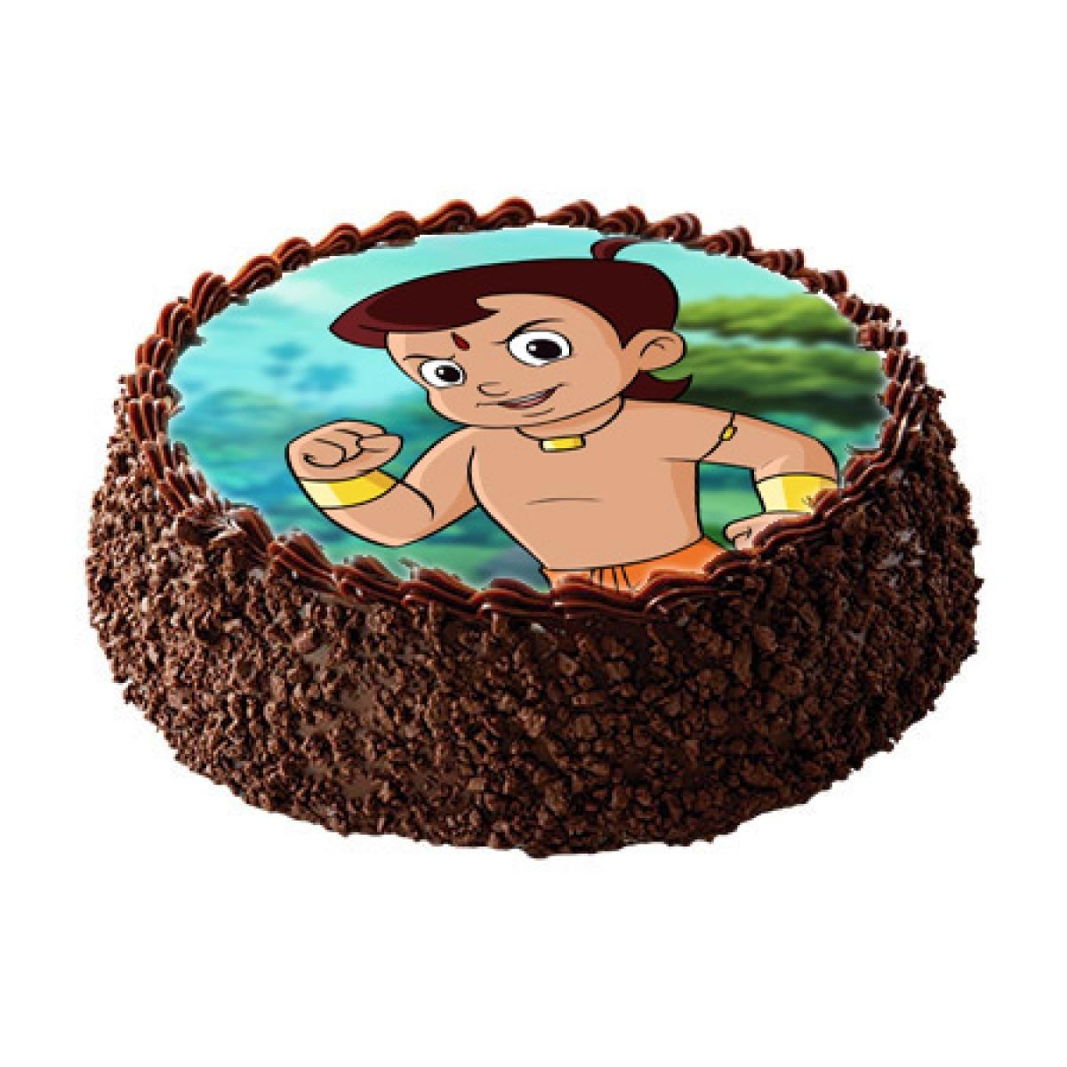 Send Happy Birthday Cartoon Cake Online