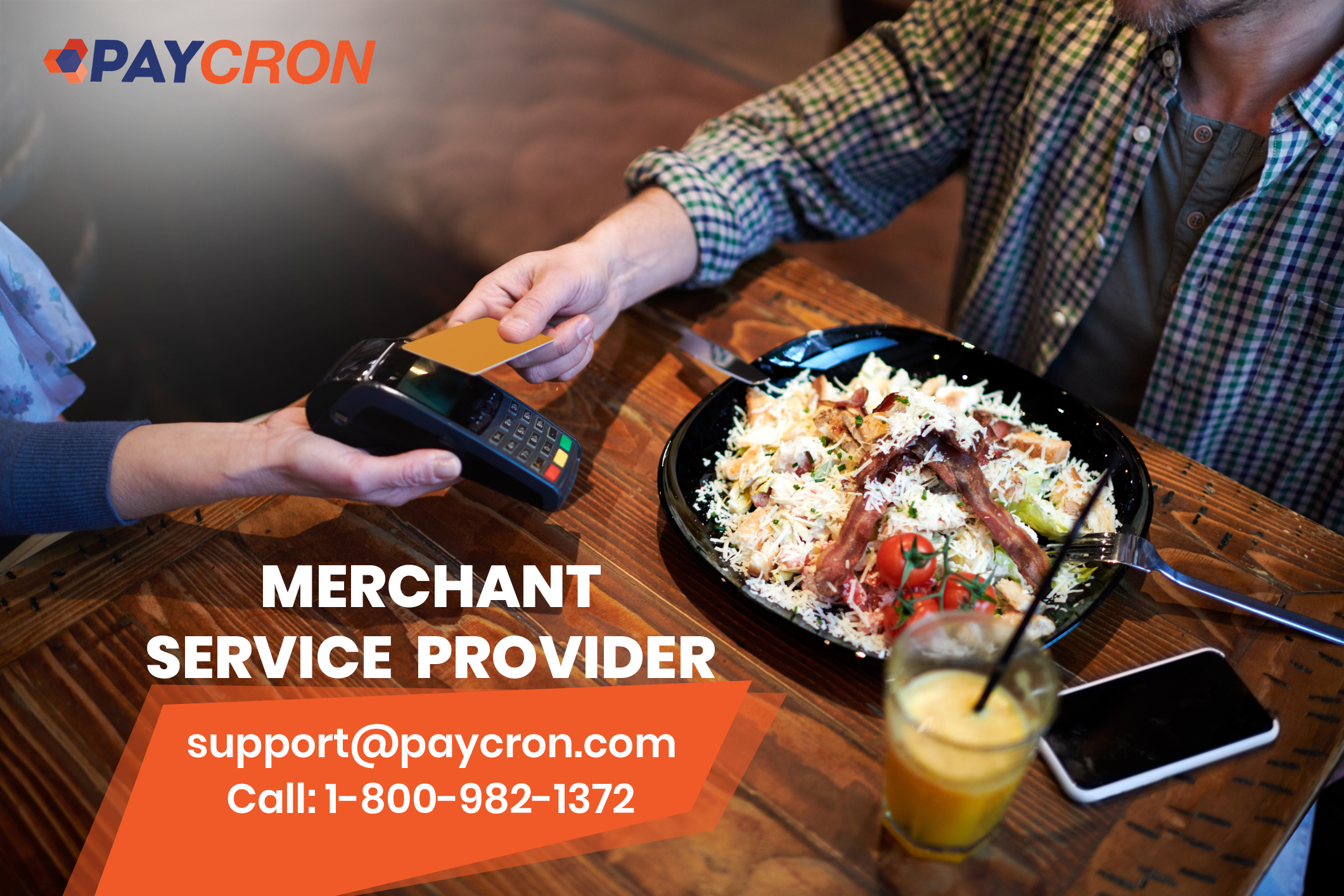 Merchant services for small business- 8009821372