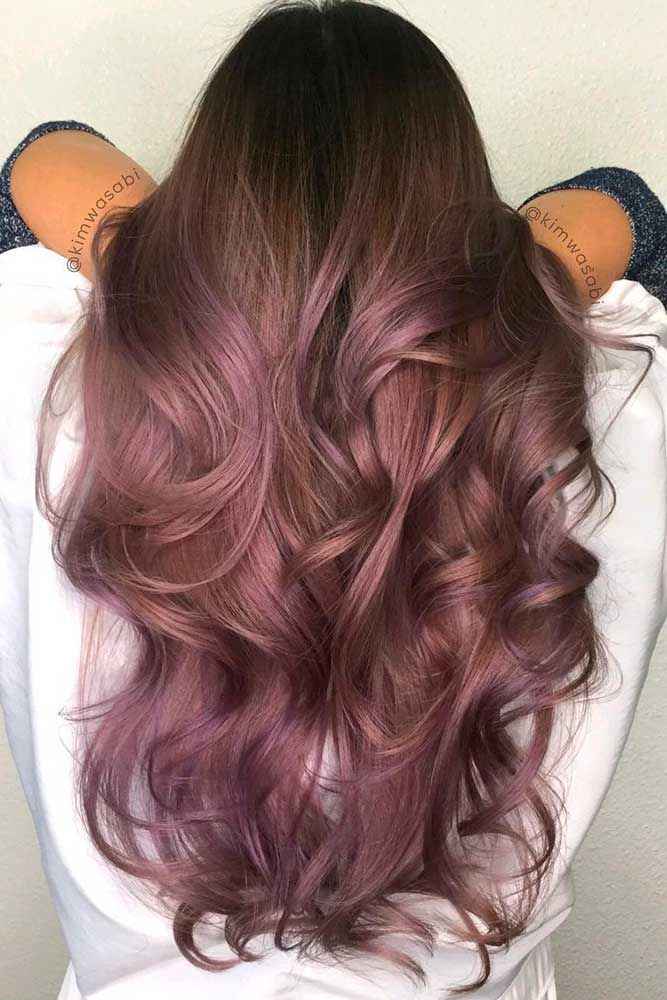 Try trendy hair colors for this new year.