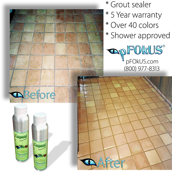 Best Epoxy Grout Sealer - Color Grout Sealer - Caponi