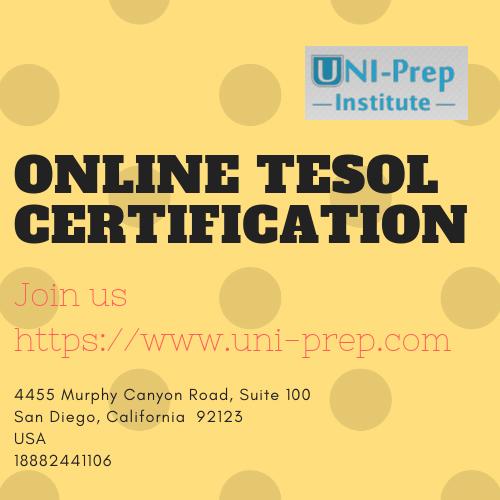 Online TESOL Certification