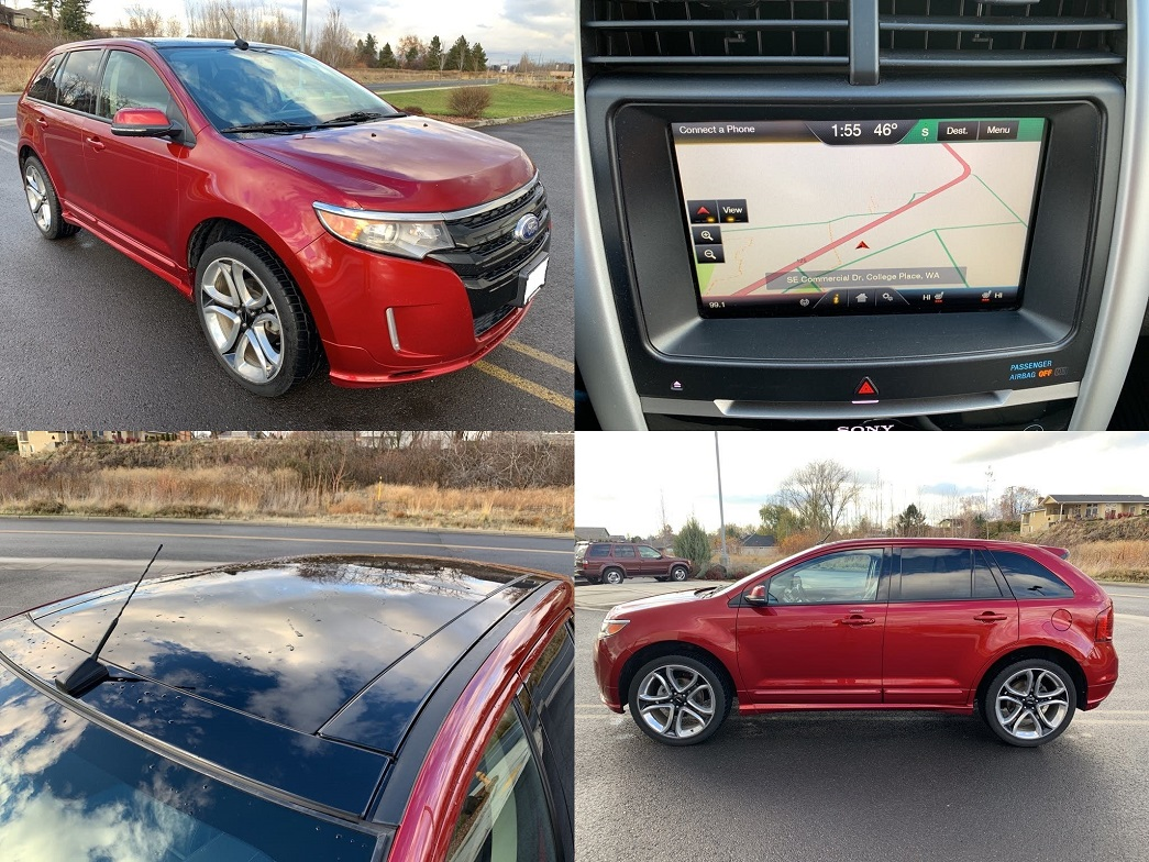 GreatShape2013 Ford Edge LowMiles LOADED