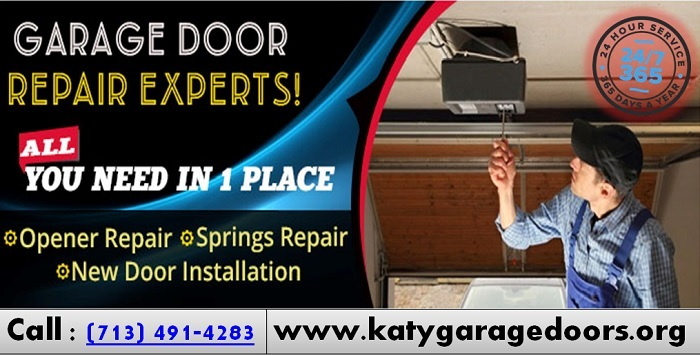 #1 Garage Door Repair ($25.95) Katy, TX – Call 713-491-4283